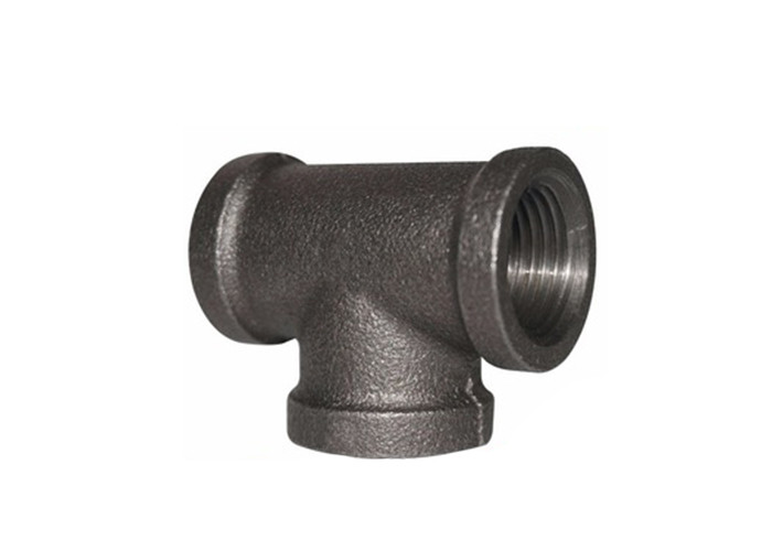 NPT Treaded 3 4 Pipe Tee 3 Way Pipe Connector With Sophisticated Metallurgical