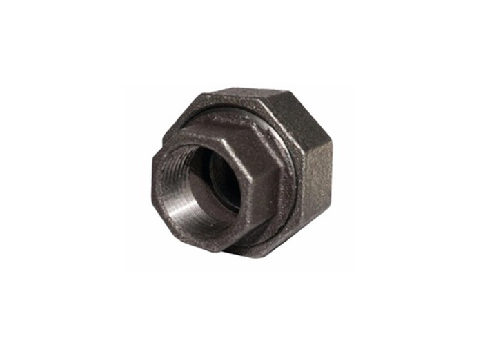 342 Black Malleable Fire Fighting Pipe Fittings Hot Galvanized Square Head Code