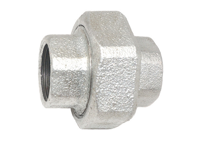 Hot Dip Galvanized Malleable Cast Iron Fittings / Coupling Pipe Fitting Plumbing